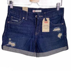 🍍 LEVI'S Girlfriend Shorty Shorts